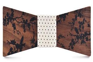 pajaritas de madera grabadas