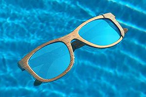gafas de sol hawkers de madera