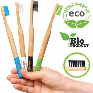 cepillos de dientes bambu blandos