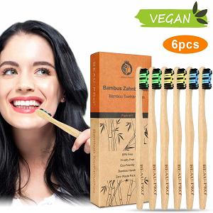 cepillo de dientes bambu sostenible