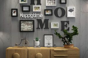 marcos de fotos Collage de marco de foto Madera de combinación de madera sólida marco de foto marco pared de fondo creativo decoración...