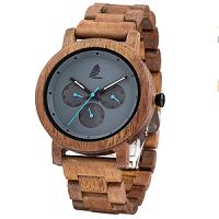 reloj de madera hombre artesanal