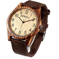 relojes hechos de madera ecológico bambú