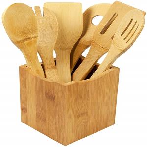 Juego de Cocina Utensilios de Cocina madera