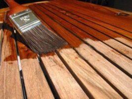 barnizar madera de exterior